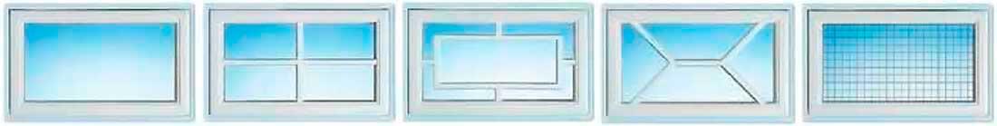 Superior 42 Normstahl garázskapu ablakok