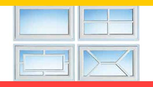 Normstahl garázskapu ablakok