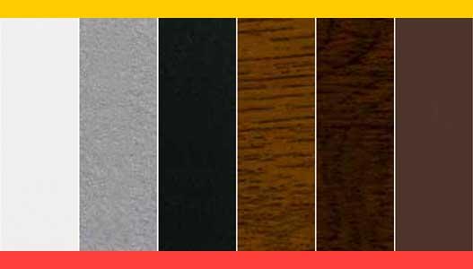 Normstahl garázskapu forma és színvilág